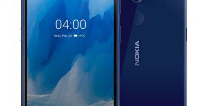 Nokia 4.2:n uusi sininen Indigo-väri.