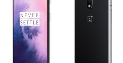 OnePlus 7:n ainoa värivaihtoehto Suomessa on tummanharmaa Mirror Gray.