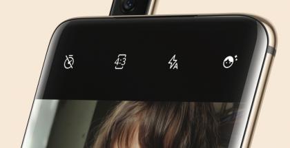 OnePlus 7 Prossa on esiin nouseva etukamera.