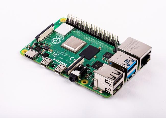 Raspberry Pi 4.