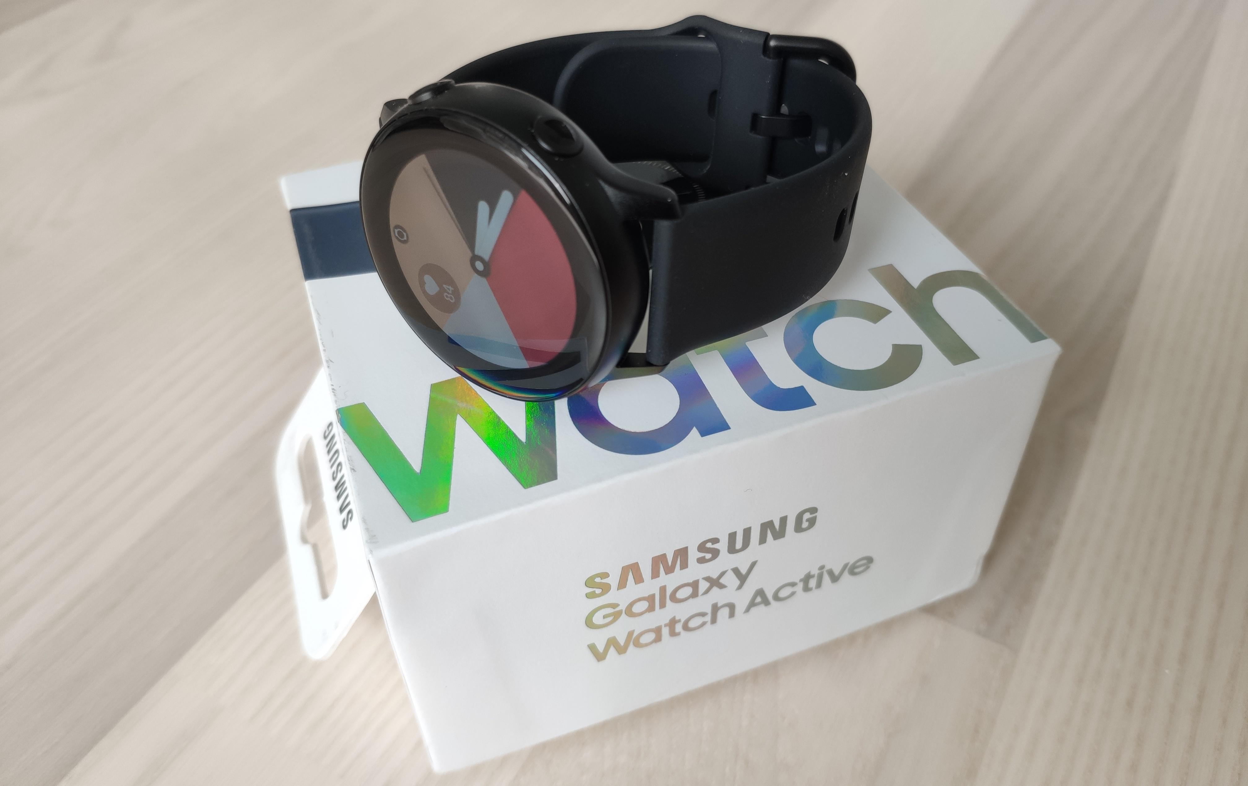 Samsung Galaxy Watch Active langaton laturi, Musta