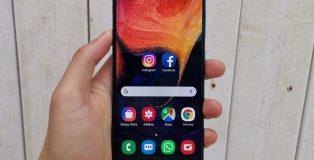 Samsung Galaxy A50.