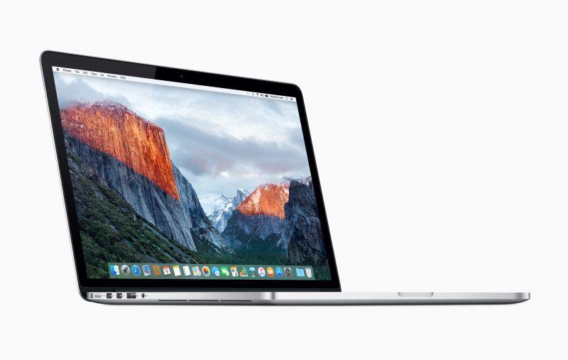 15 tuuman MacBook Pron akku voi ylikuumentua.