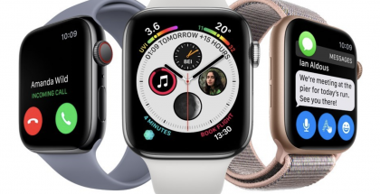 Toistaiseksi uusin Apple Watch, Series 4.