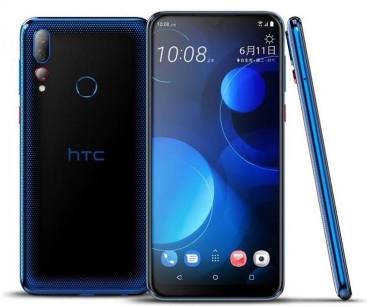 HTC Desire 19+.