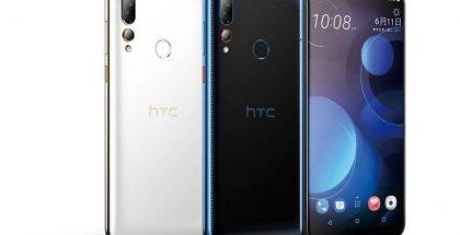 HTC Desire 19+:n värivaihtoehdot.