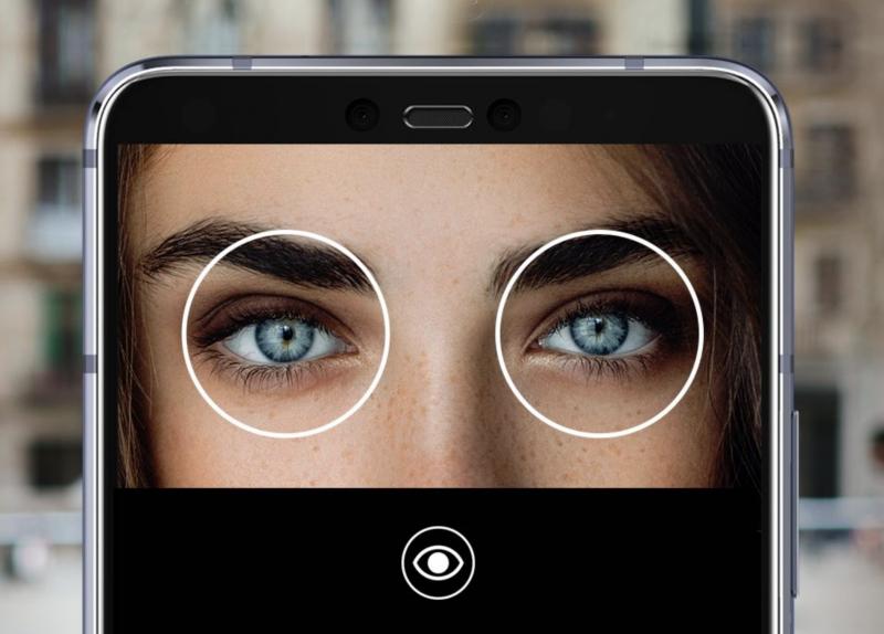 Samsungin aiemmin suosima iiristunnistus on melko harvinainen ominaisuus erityisesti keskihintaluokan älypuhelimessa.