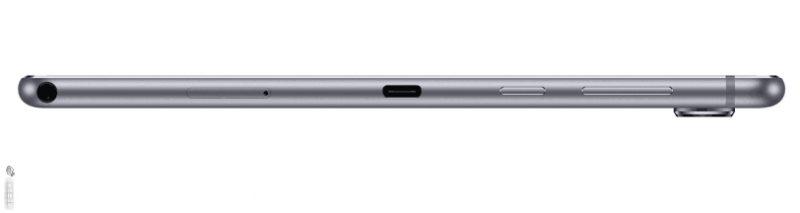 Huawei MediaPad M6 kyljeltä.