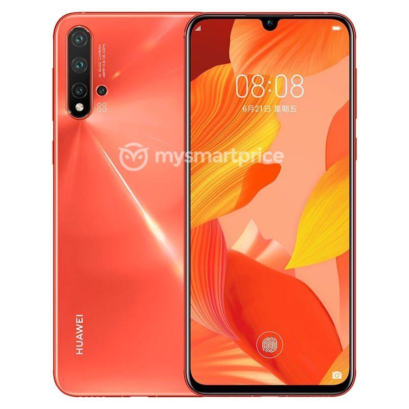 Huawei Nova 5 Pro punaisena. Kuva: MySmartPrice.