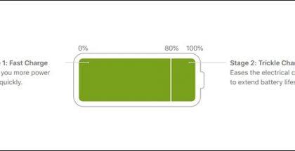 iOS 13 lataa akun täyteen vasta, kun järjestelmä ajattelee olevan sen aika.