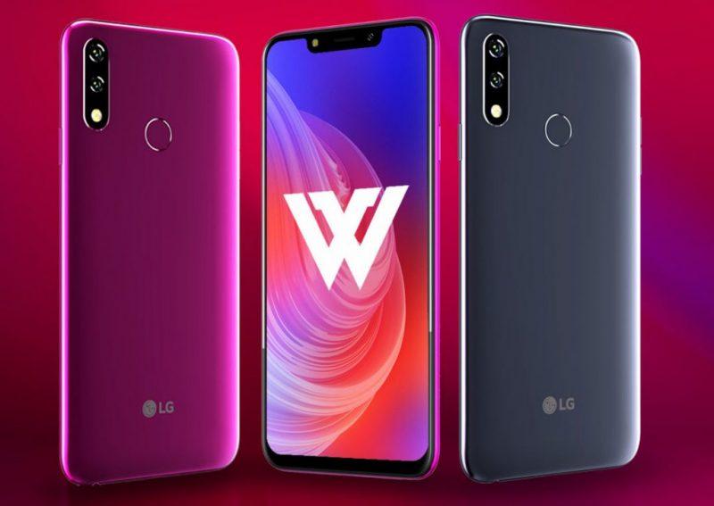 LG W10.