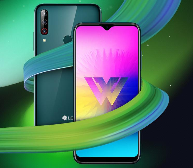 LG W30 Pro.