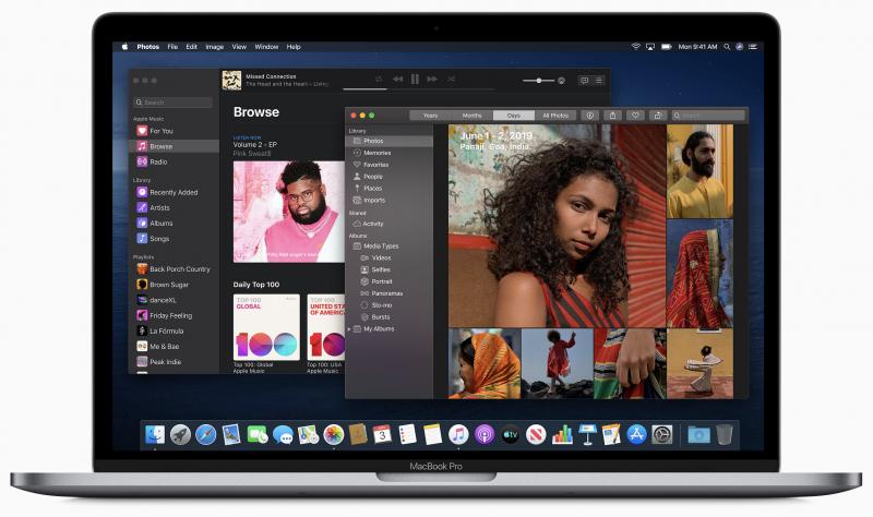 macOS Catalina heittää hyvästit iTunesille.
