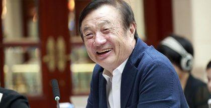 Huawein perustaja Ren Zhengfei.