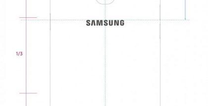 Samsung-älypuhelin mallikoodilla SM-A107F. Kuva FCC-asiakirjoista.