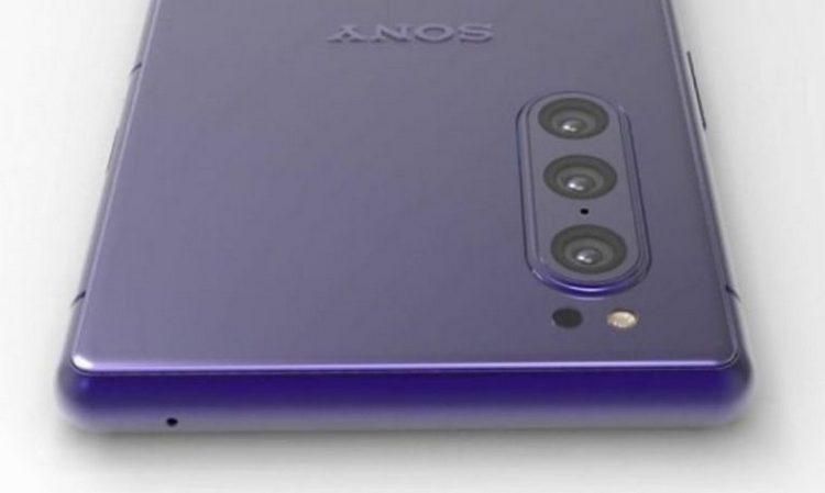 Väitetty kuva tulevasta Sony-puhelimesta.