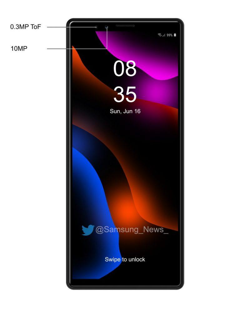 Kuvituskuva. Oikeasti Sonyn tuleva älypuhelin ei välttämättä näytä tältä.