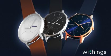 Withings Move Timeless Chic -värivaihtoehdot.