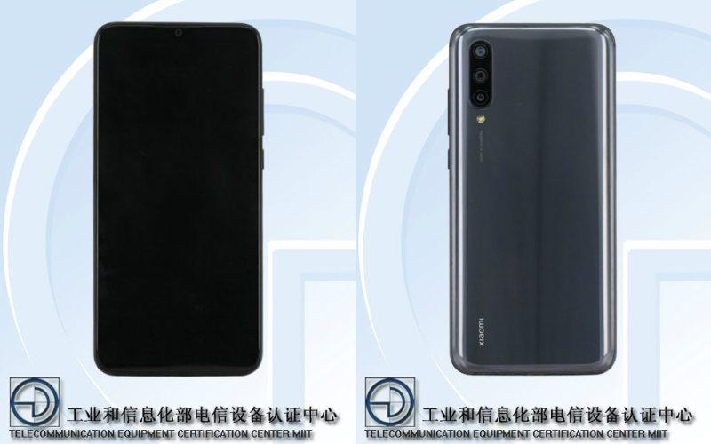 Uusi Xiaomi-älypuhelin TENAA-viranomaisen kuvissa.