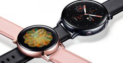 Samsung Galaxy Watch Active2 aiemmassa vuotokuvassa.