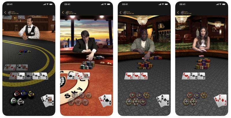Applen Texas Hold'em.