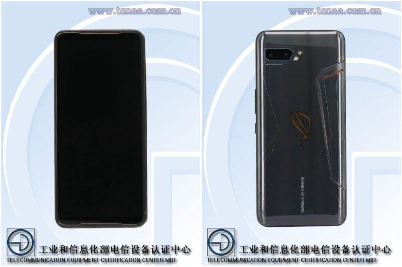 Asus ROG Phone 2 kiinalaisviranomaiskuvissa.