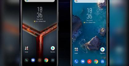 ROG Phone II tarjoaa kaksi eri käyttöliittymätyyliä.
