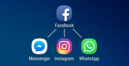 Facebook Messenger Instagram WhatsApp.