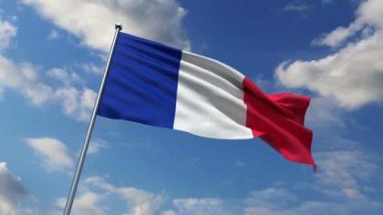 Ranskan lippu.