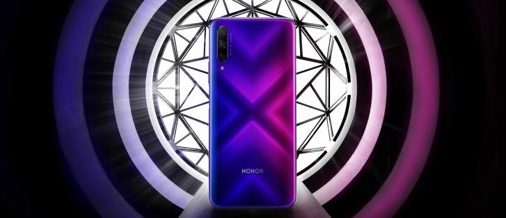Honor 9X Pro. Honorin ennakkoon julkaisema kuva.