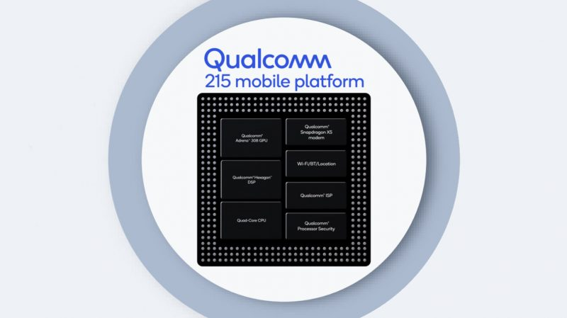 Qualcomm 215 Mobile Platform.