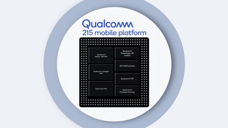 Qualcomm 215 Mobile Platform.