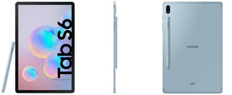 Samsung Galaxy Tab S6. Kuva: Ishan Agarwal.