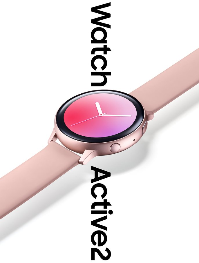 Samsung Galaxy Watch Active2. Kuva: Evan Blass.