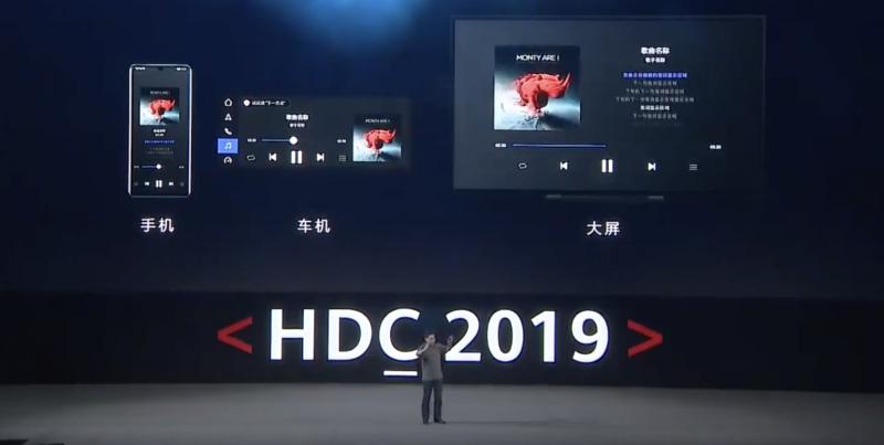 Huawei esitteli, miten HarmonyOS:lle kehitetyt sovellukset voivat mukautua erilaisille laitteille.