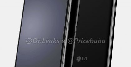 LG G8X ThinQ. Kuva: OnLeaks / Pricebaba.