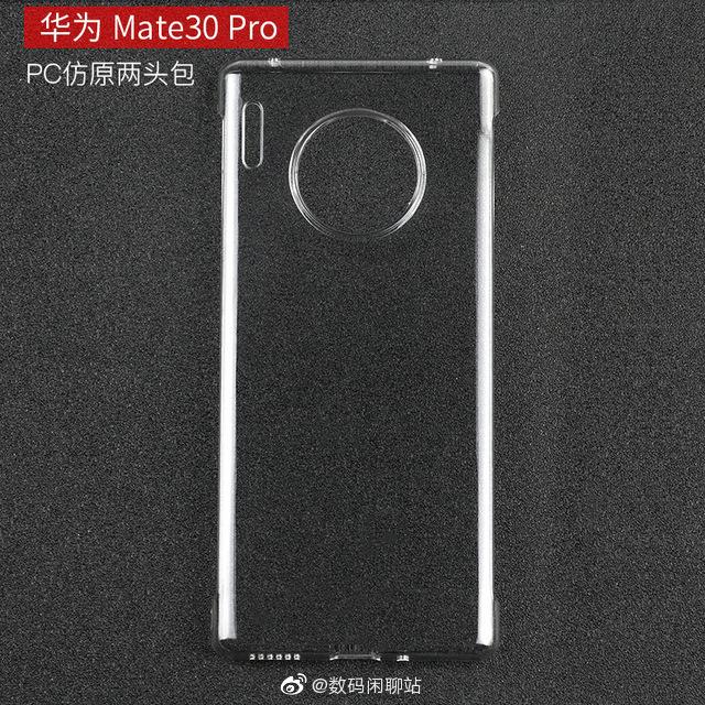 Taakse Mate 30 Prohon odotetaan pyöreän muotoista kamerakohoumaa.