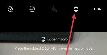 OnePlussan kamerasovellus on saamassa makrotilan.