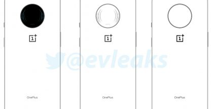 Vuotaja Evan Blassin julkaisema kuva vihjaa pyöreästä kamera-alueesta uudessa OnePlus-puhelimessa.