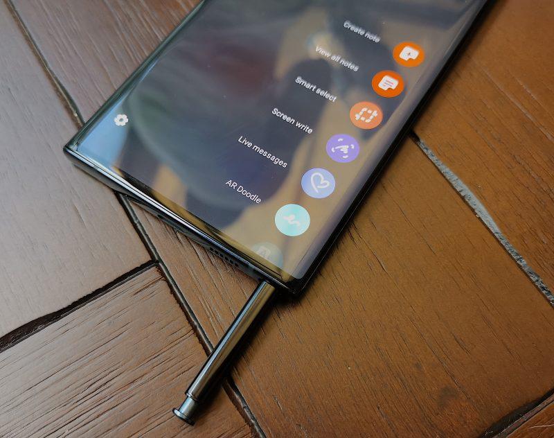 S Pen -kynä on edelleen Galaxy Note -puhelinten erikoisuus.