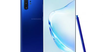 Samsung Galaxy Note10+ Aura Blue.