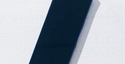 Mahdollinen Sony Xperia 2 etupuolelta.