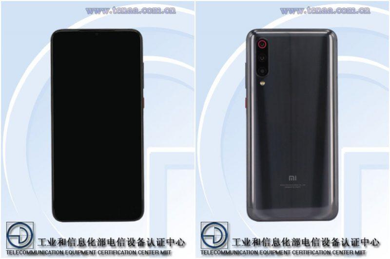 Xiaomi Mi 9 Pro 5G viranomaiskuvissa.