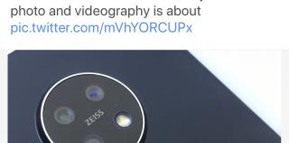 Tuleva Nokia 7.2 -älypuhelin paljastui optiikkakumppani ZEISSin viestintäpäällikön julkaisemassa kuvassa – twiitti poistettiin nopeasti