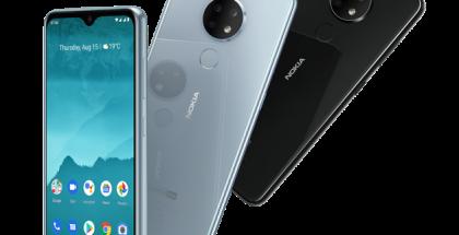 Nokia 6.2 eri värivaihtoehtoina.