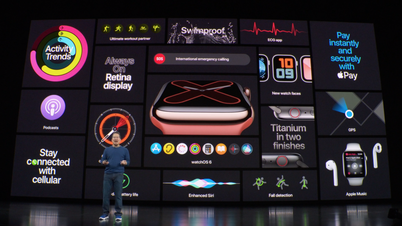 Apple julkisti Watch Series 5:n syyskuussa.