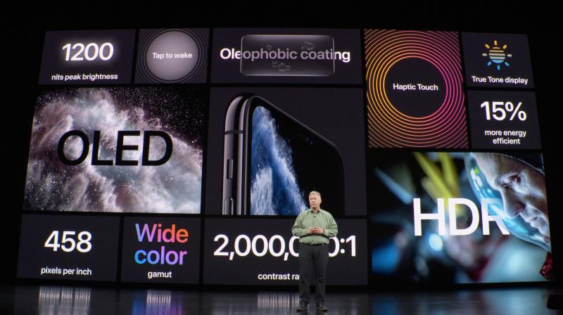 iPhone Pro -mallit tarjoavat monessa suhteessa aiempaa paremman näytön.
