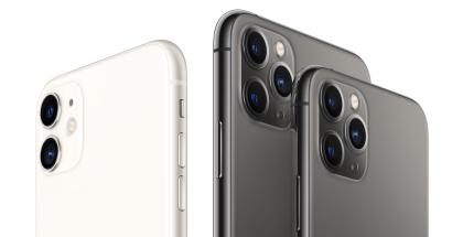 iPhone 11:ssä on takana kaksi kameraa, iPhone 11 Pro -malleissa kolme.