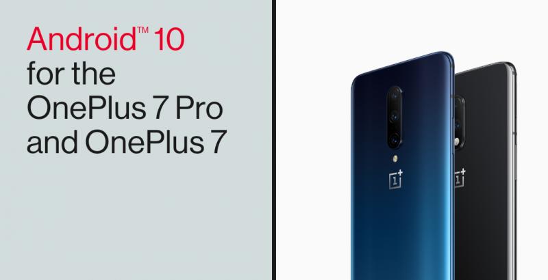 Android 10:n sisältävän päivityksen jakelu jatkuu OnePlus 7 Pro ja OnePlus 7 -puhelimille.