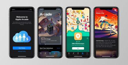 Apple Arcaden tilaajaksi pääsee liittymään App Storesta, josta se löytyy omana välilehtenään.